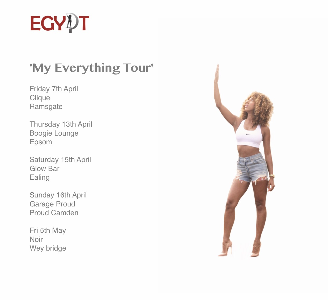 'My Everything Tour' 2017
